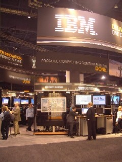 IBM booth NAB