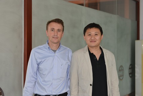 With Jimmy, GM of Lizhou Group