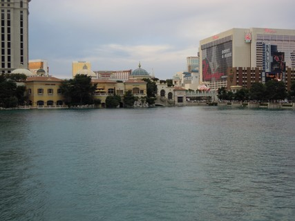 Lake at the Bellagio hotel